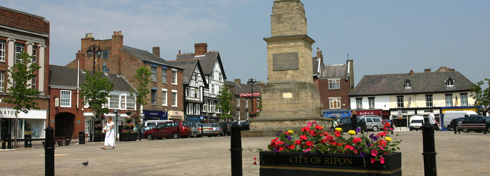 Image result for Ripon Town Centre
