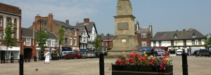 Ripon market place